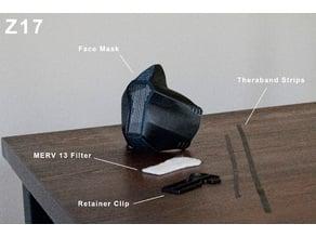 Z17 Face Mask