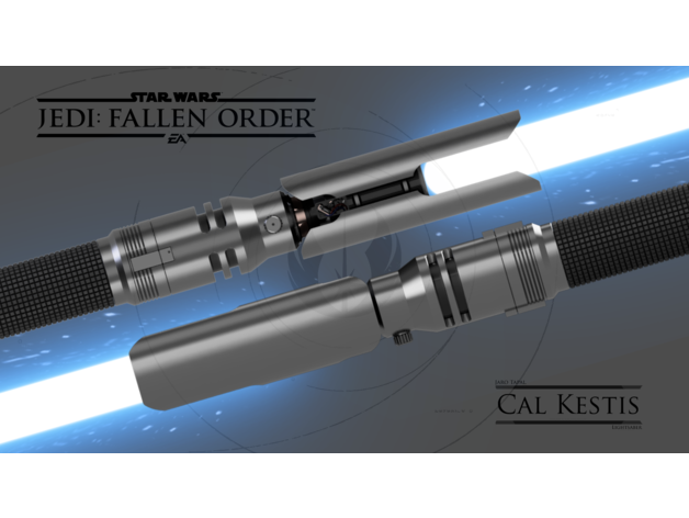 Fallen Order Lightsaber By D3c0y Thingiverse