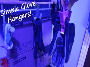 Simple Glove Hangers