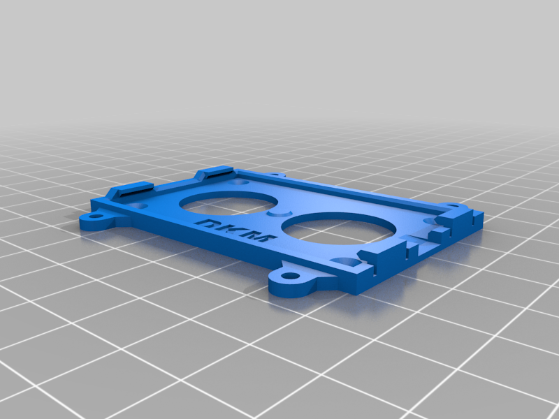 Matek F405 Wing Mounting plate (Click on)
