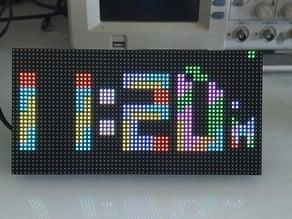 Wifi Tetris Clock on ESP8266