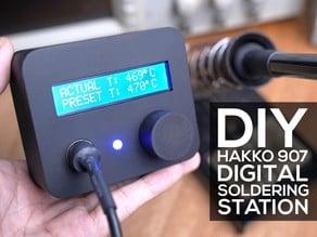 DIY Digital Soldering Station (Cheapo Hakko 907)