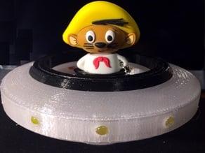 Speedy Gonzales on Sandmann space vehicle