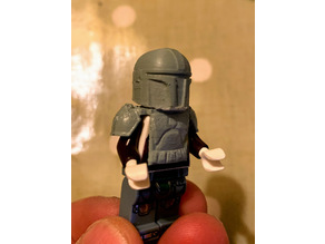 Mandalorian Lego compatible armour