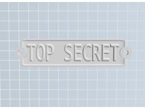Top Secret badge