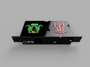 Ender 3 Case SKR 1.1 / 1.3 with SKR and Octoprint Logo