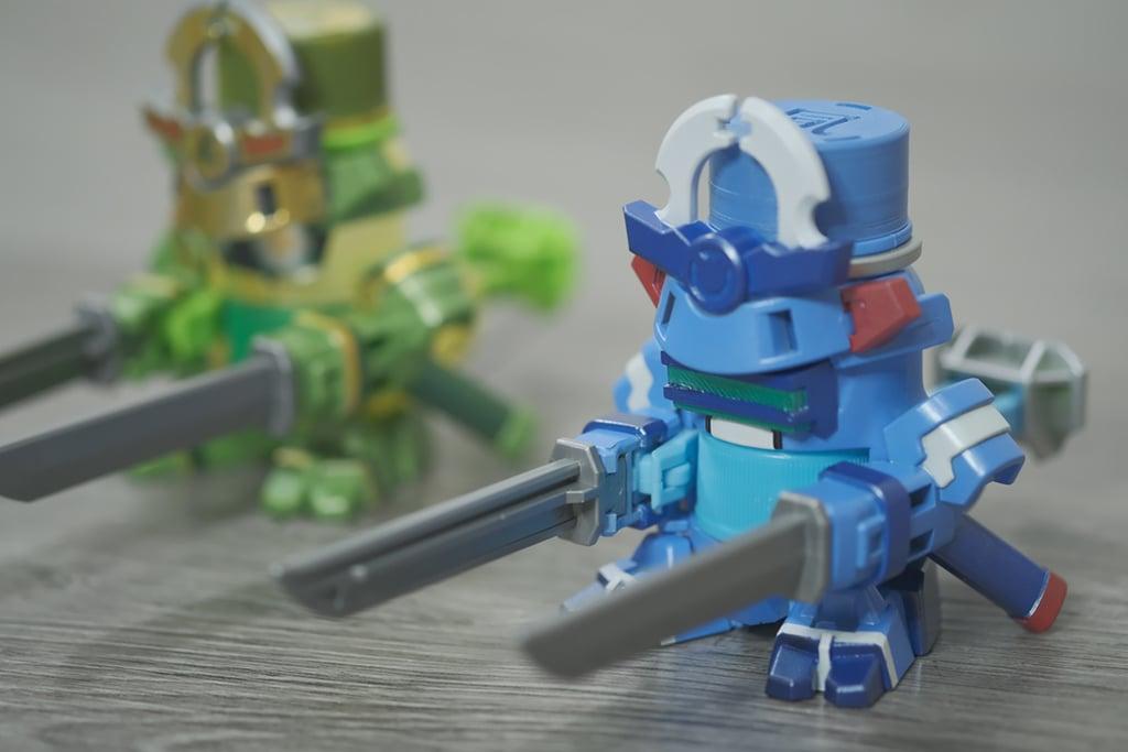 "BottleMan GyokuRock Virtual On Force 景清 ""凬"" Kit"