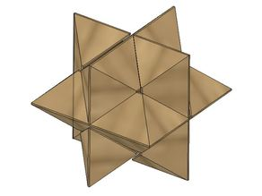 6 piece star puzzle