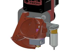 eB fan shroud 5015 version. Alternate nozzle, M3 heated inserts, 5015 fan fitment mod + Source