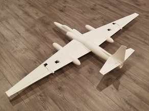 1/20 SCALE U-2R RC MODEL (1627MM WINGSPAN)