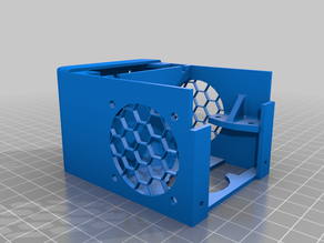 Anycubic i3 Mega new hotend housing and BLTouch mount
