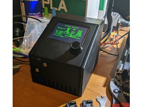 ender 3 control box with Pi and 3 buck converters