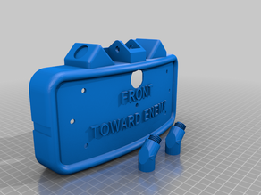 Recoil Claymore Case for Arduino