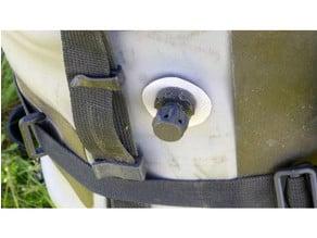 Air valve for PVC bag v2