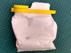 Bag Clip with Screw Cap (Modified)