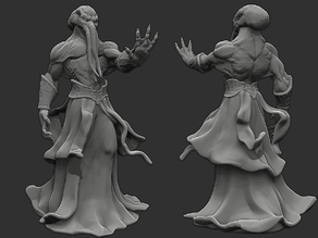 Mind Flayer / Illithid - D&D Miniature