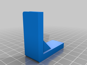 Ikea Bror Corner Foot with Customizable Thickness (Including Fusion360 Source File)