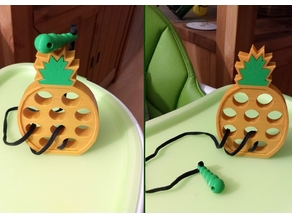 Lacing Pineapple Toy