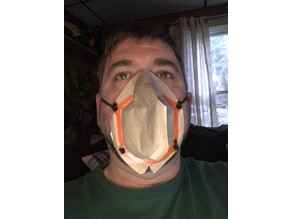 Respirator Face Mask by Dan Passmore
