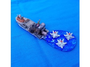 Nautical Mine Template for BOATLANDS (GASLANDS)