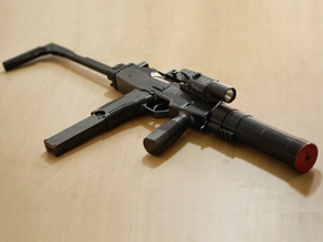 TMP to MP9 Conversion kit for airsoft