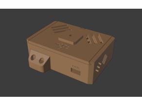 Case smoke detektor and temperature sensor - D1 mini, MQ2, BME280 3.3V - ESP8266 mqtt