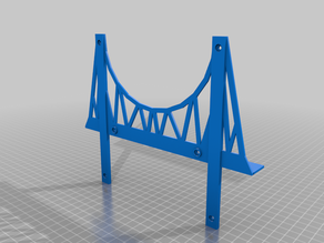 Reproduction Bridge for Wooden Train Set (Brio) Tongue Support