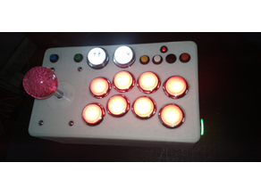 Arcade cases for left and right individual controllers with pinball and modes buttons