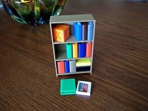 Customizable Tiny Bookcase