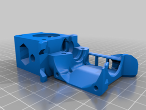 Simple HyperCube Bear Extruder adaptation with BFPTouch mount