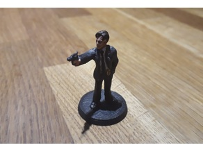 Bureau Agent / Police / Detective Call of Cthulhu Investigator