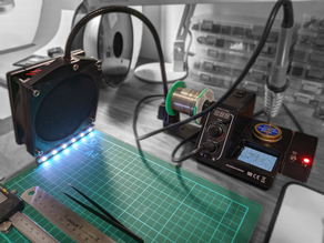 Soldering Station Fume Extractor
