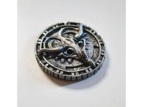 Ytepka society iron token