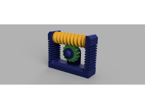 Worm Gear Toy - Super Satisfying