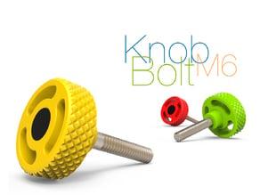 Knob Bolt M6