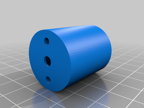 N20 motor adapter for the experimental chasis of a minisumo robot