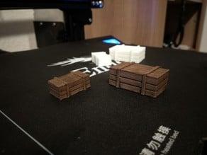 1/16 Scale wood box