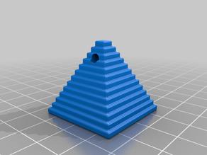 Pyramid Keychain