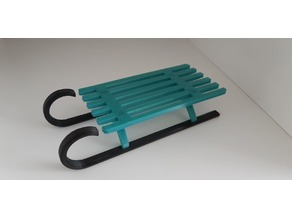 Snow sled toy