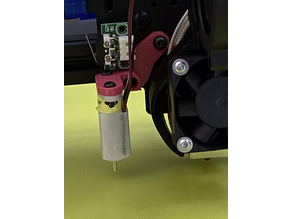 Tronxy X5SA 3D Touch Holder Bed Leveling