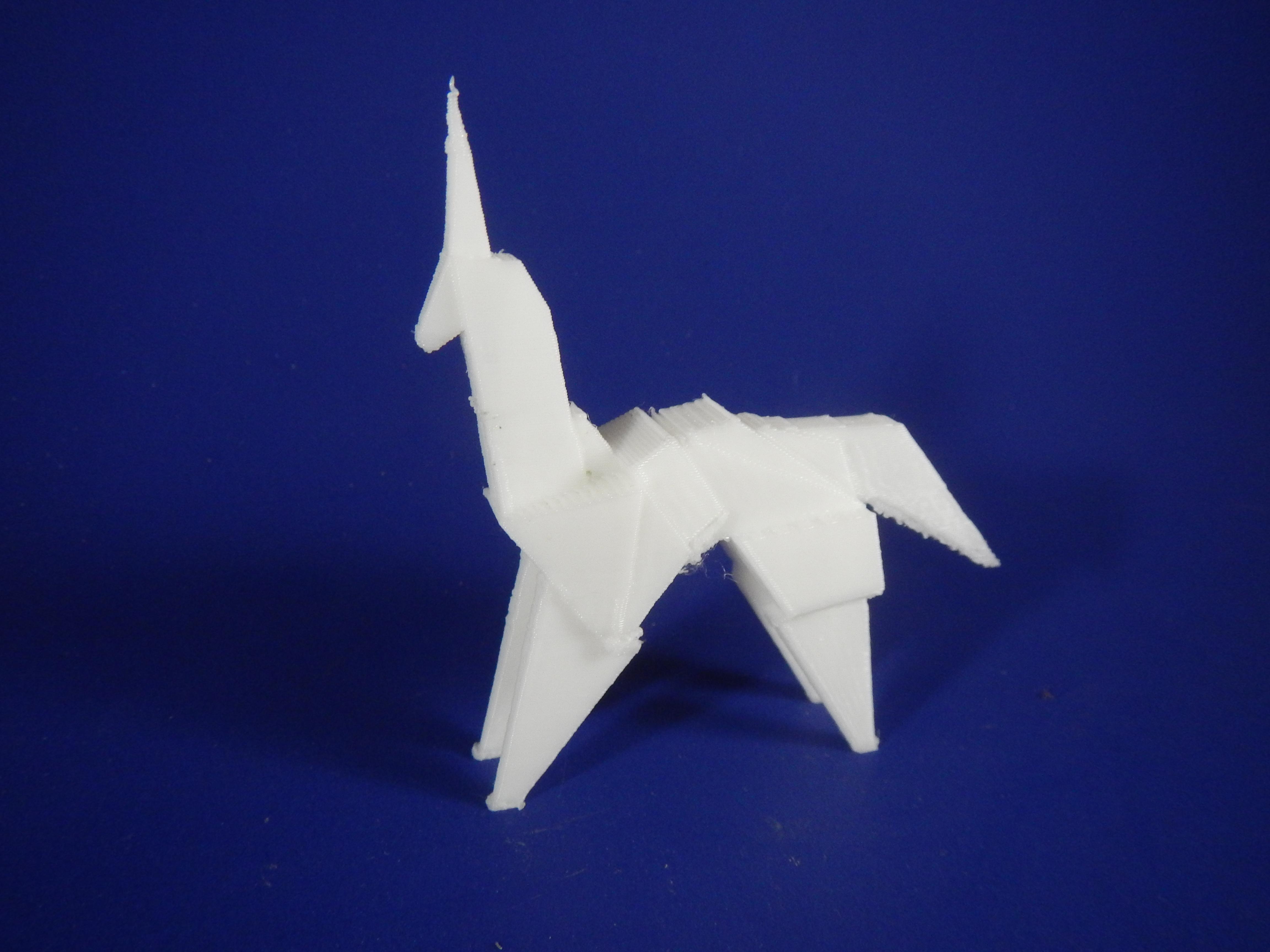 How to fold the Blade Runner Unicorn #PhilipKDick #bladerunner ... | 3456x4608