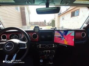 Jeep JL iPad Mount