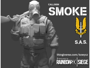 Smoke from Rainbow Six Siege