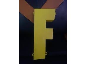 Fortnite F Light Cover