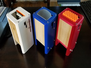 Atomic Pi Delux Vertical Desktop Case for passive stack effect cooling