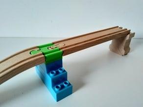 Duplo to Brio/Ikea track converter