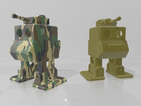 Otto Tank Mech - [Remix of Otto DIY build your own robot by cparrapa]