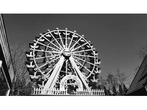 """Ferris Wheel """"WONDERLAND"""". Plywood skywheel"""