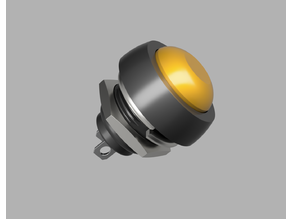 components_model_PBS-33B Waterproof Momentary Push Button Switch  (12mm)