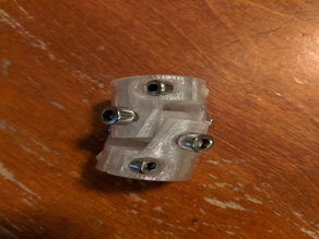 U joint 5 to 8mm z axis coupler